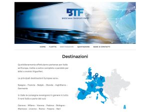 Web Design WordPress Bresciana Trasporti